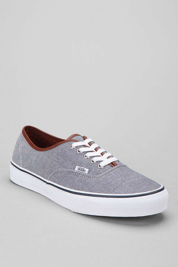 b8a5f86175dd Shop Vans Authentic Chambray Men s Sneaker at Urban Outfitters today. We  carry all the latest styles