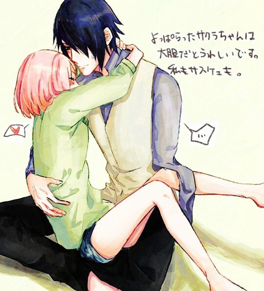 #sakura #haruno #sasuke #uchiha #naruto #shippuden #gaiden #fanart #anime #love #kiss #ecchi