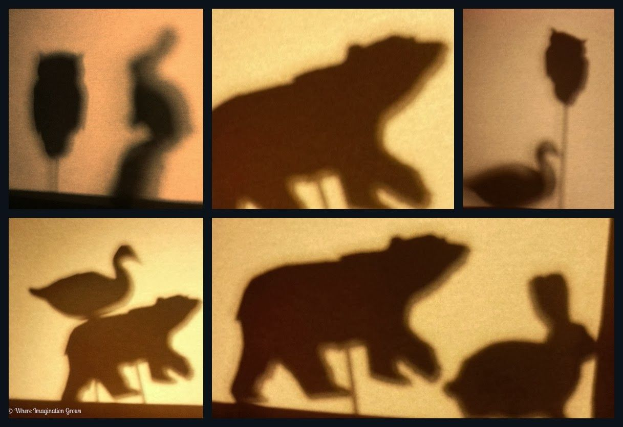 Exploring light with Shadow Puppet Play