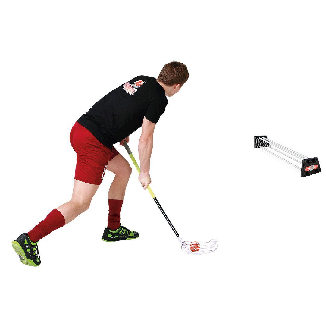 Syöttö / palautusseinä salibandyyn! My Floorball Passer Pro on väsymätön treenikaveri salinbandyä harrastavalle. Tutustu ja tilaa!