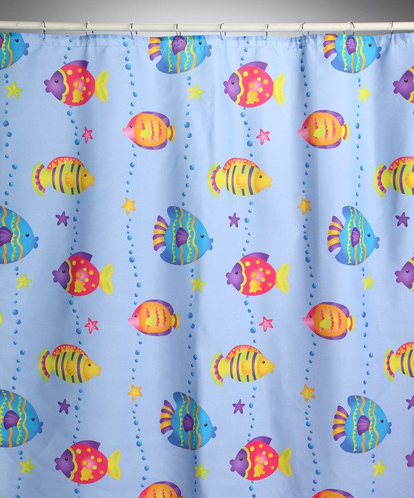 Look What I Found On Zulily Fish Playground Shower Curtain By