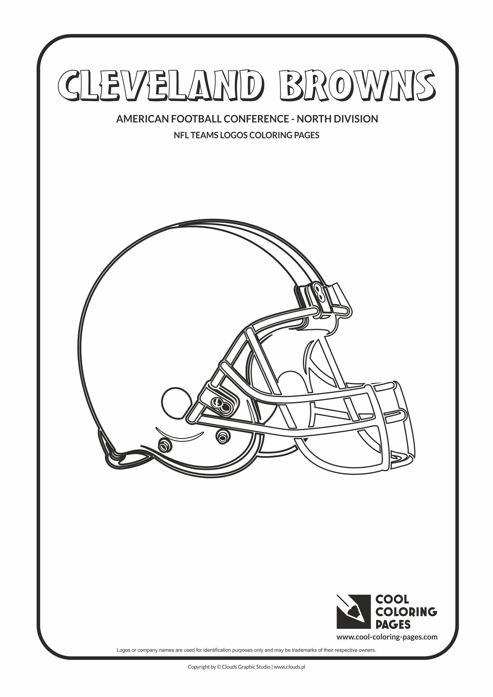 American football colouring pages