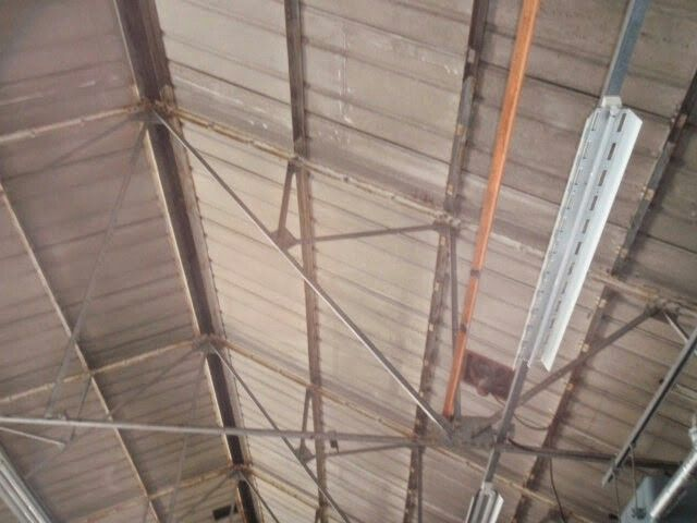 Corrugated Asbestos Cement Roofing Sheets To A Warehouse Roof Roofing Sheets Roofing Asbestos