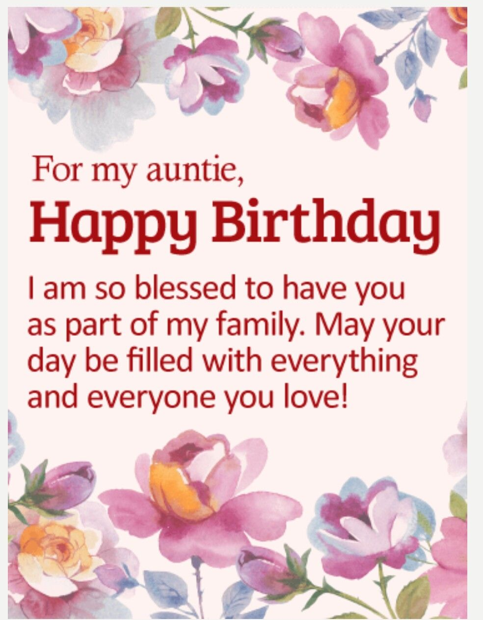Pin By Natalie Chetty On Aunts Birthday Pinterest Birthday
