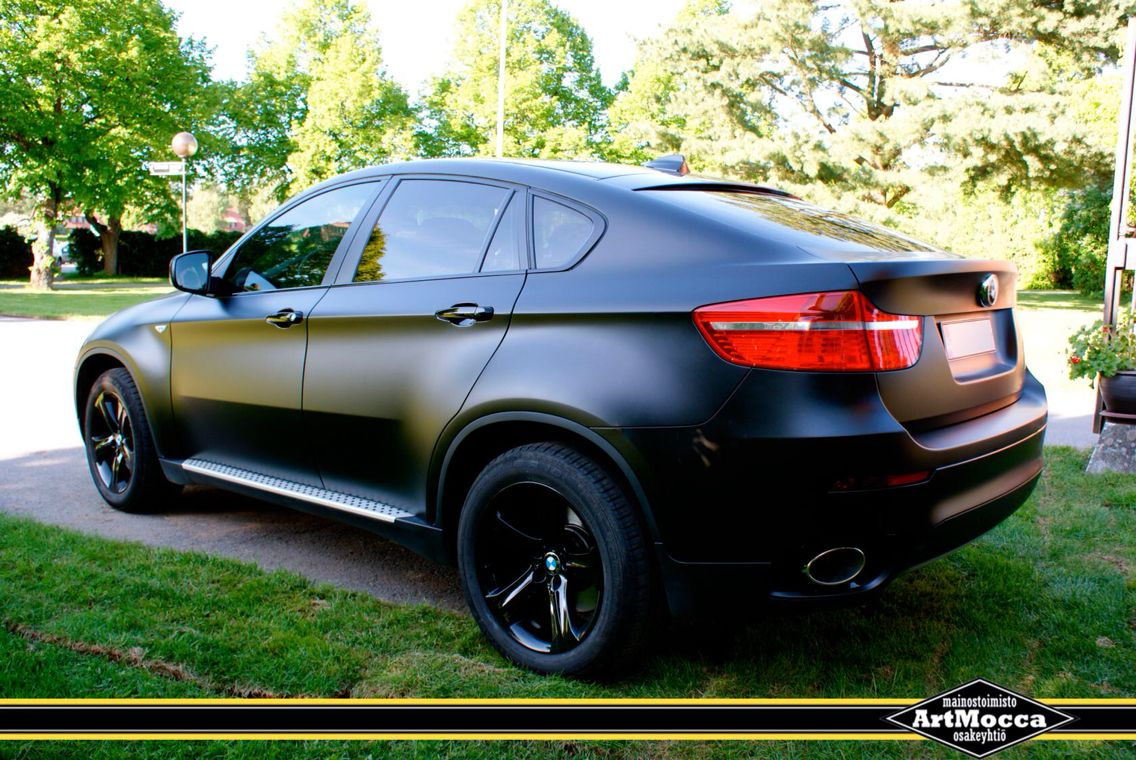 Matte Black BMW X6 M  20TWENTY  Pinterest  Bmw x6 BMW and Cars