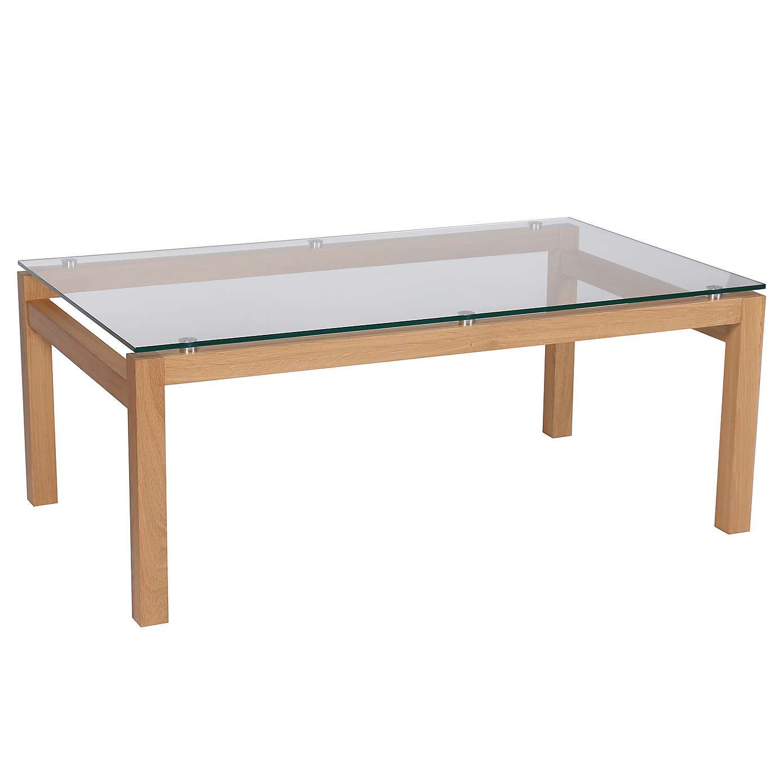 Dunelm Dallas Contemporary Design Light Brown Oak Wood Coffee Table