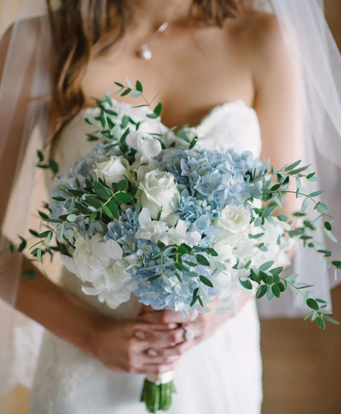 Wedding Bouquets Not Flowers: Something (Not Boring) And Blue For Your Wedding Day