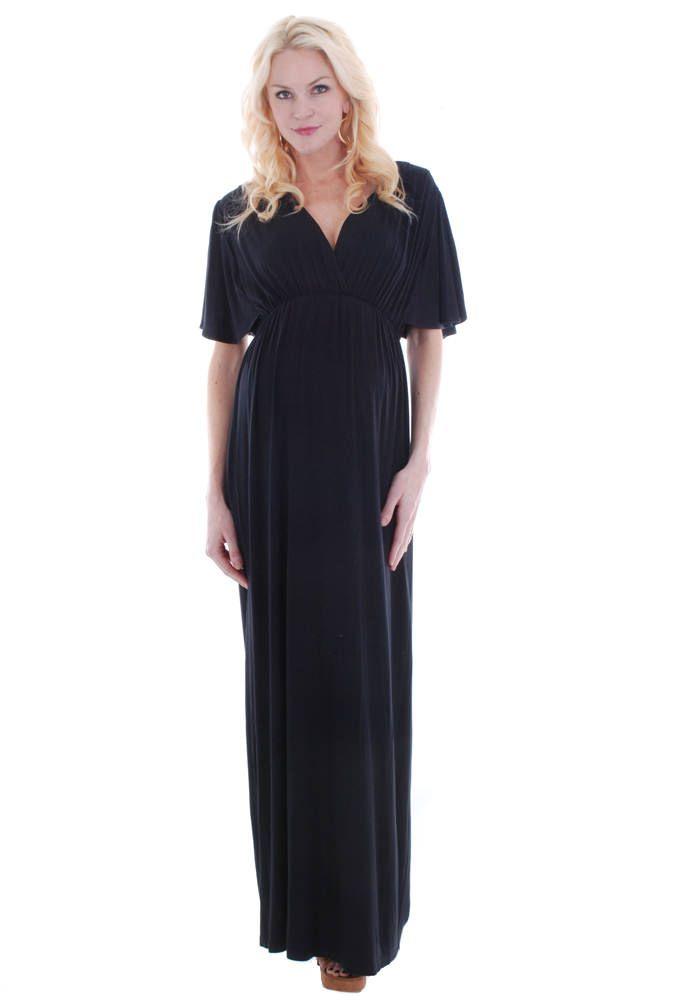 Everly Grey Goddess Maternity Maxi Dress Maternity Clothes Www