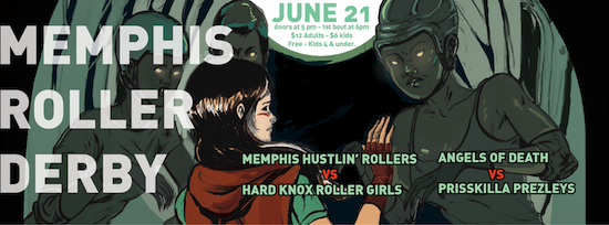 Blog with things to do in Memphis-calendar format