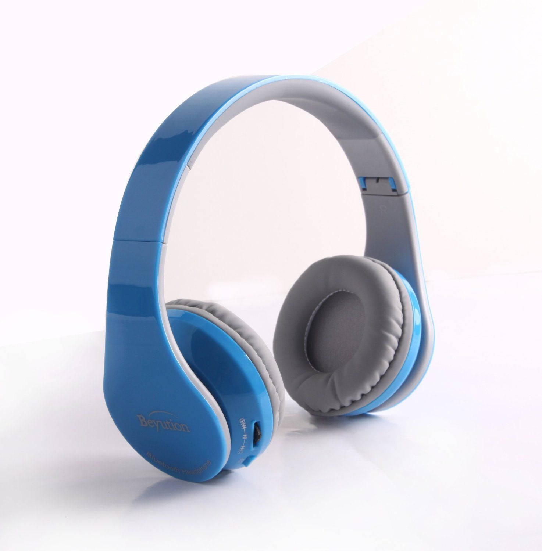 c0e0a13c52e Amazon.com: Beyution V4.1 Bluetooth Headphones Wireless Foldable Hi-fi  Stereo Headphone for Smart Phones & Tablets - Black: Cell Phones &  Accessories