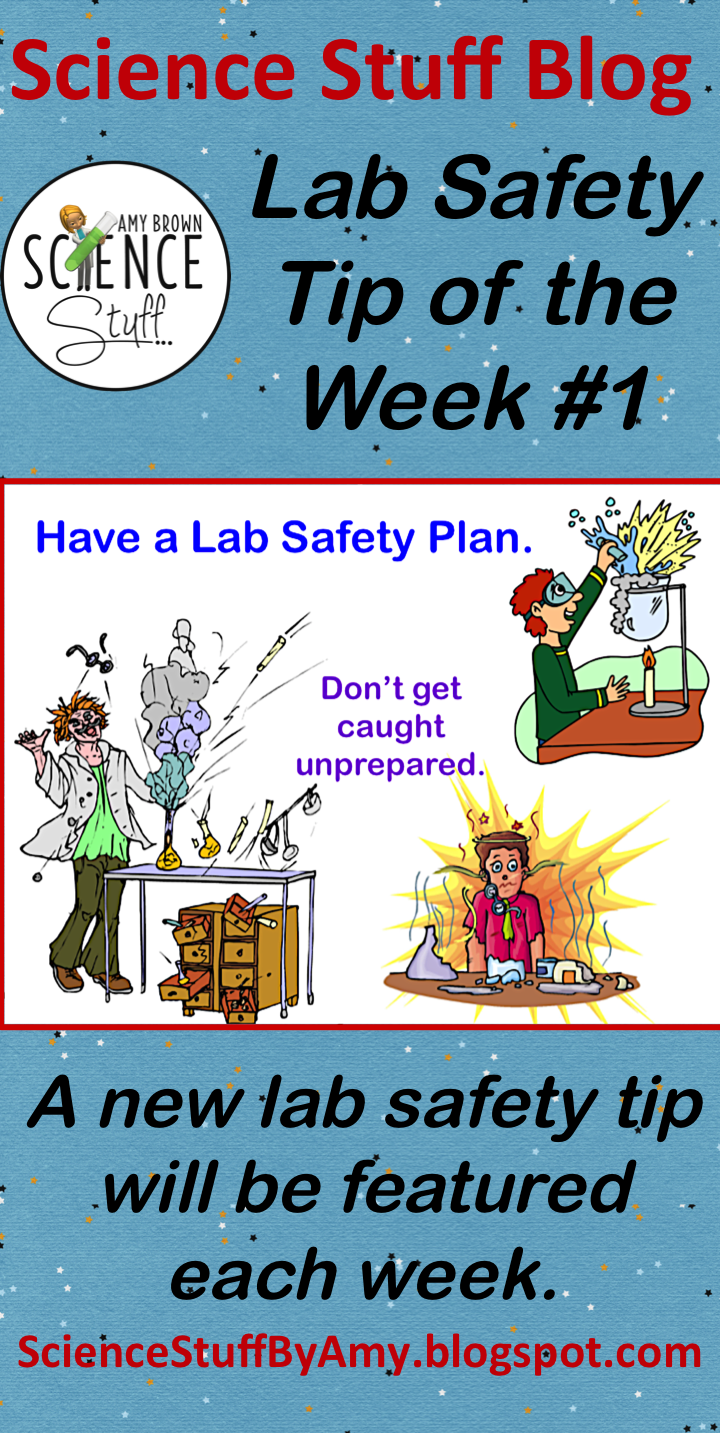 Lab Safety Tip of the Week 1 Lab safety, Safety lesson