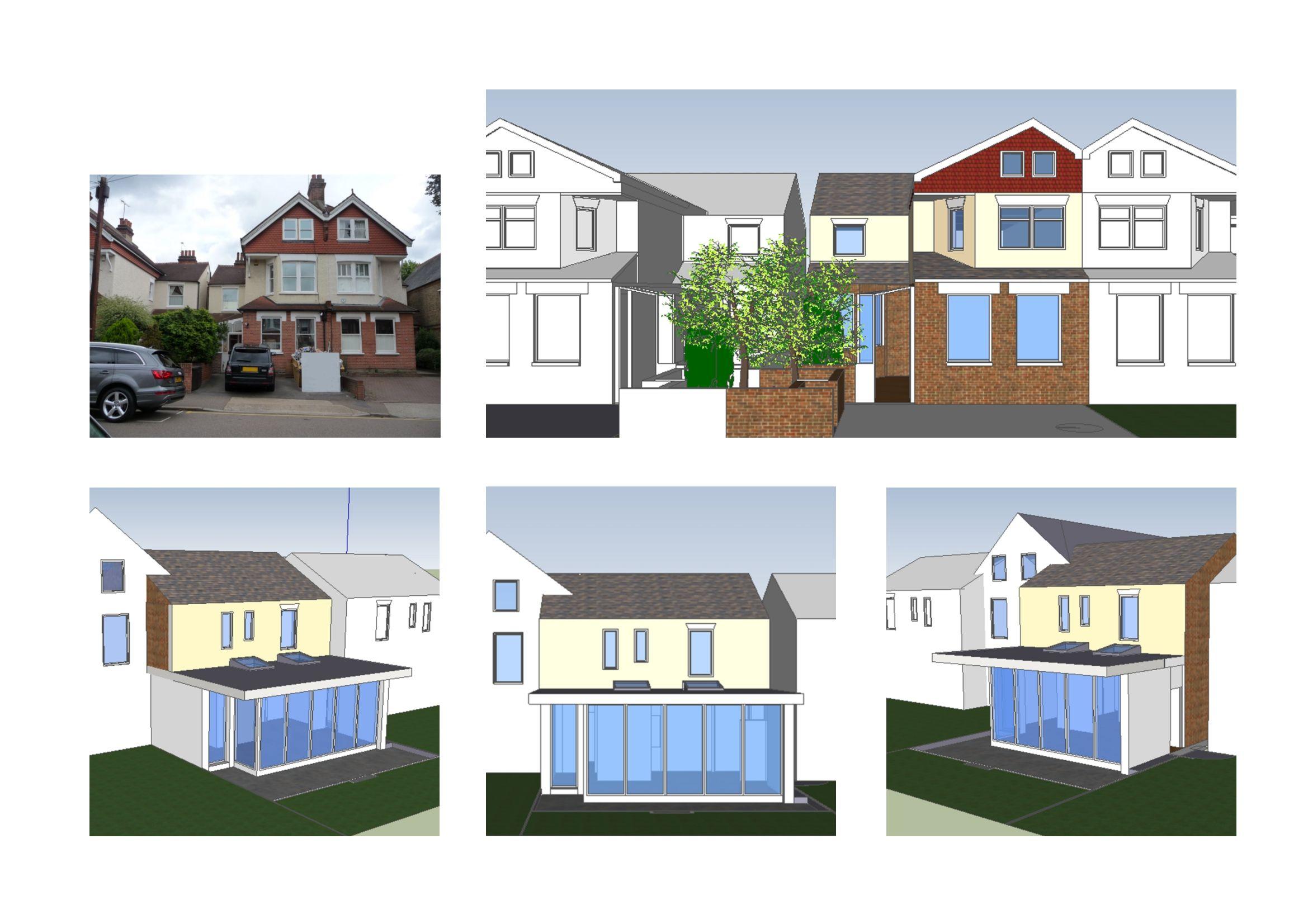 Architect Designed House Extension Norbiton Kingston KT2