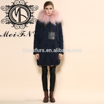 New Luxury Women's Business Hot Jacket With Lamb Fur Lining - Buy ...