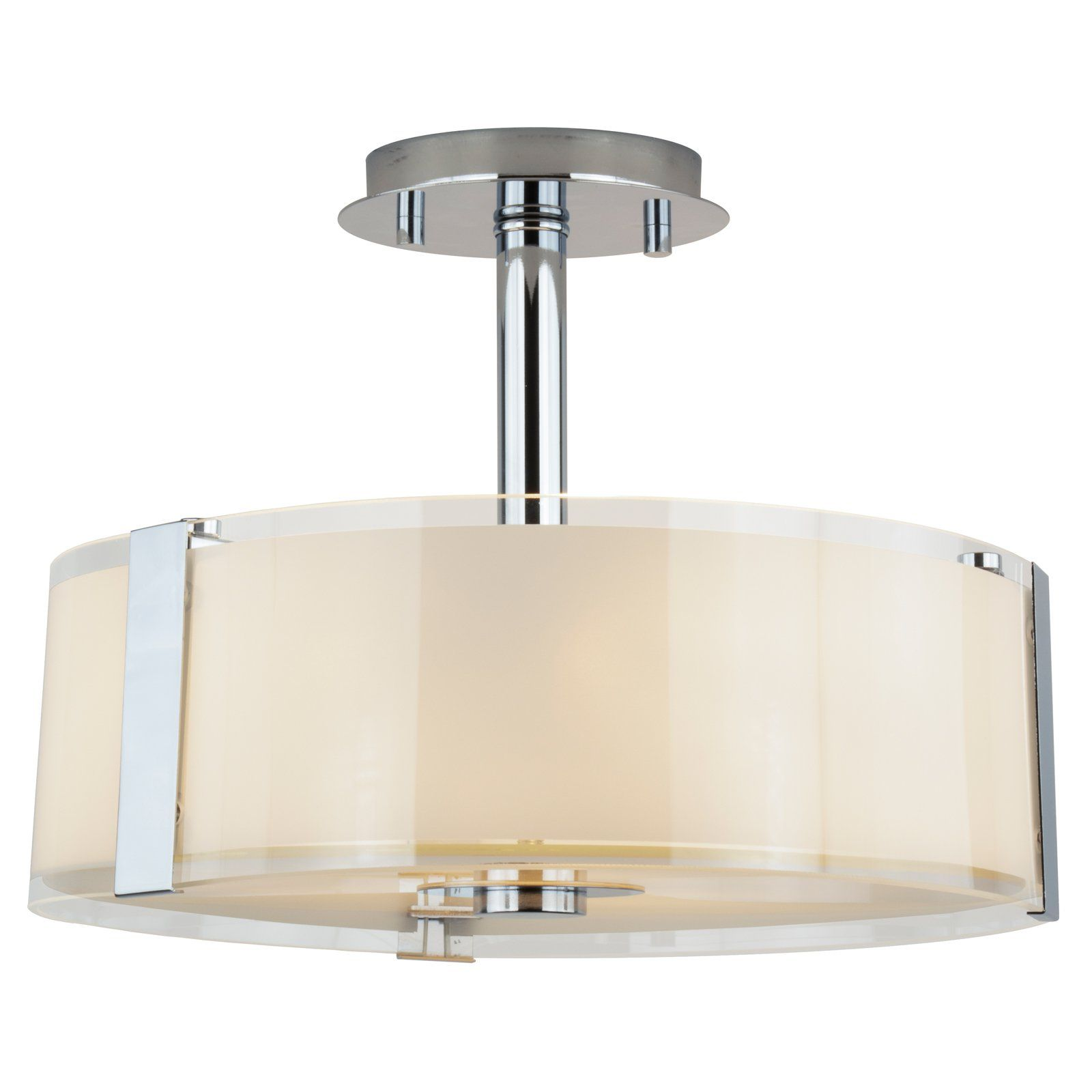 Levico Lighting Capri Lv B38 Semi Flush Mount Light