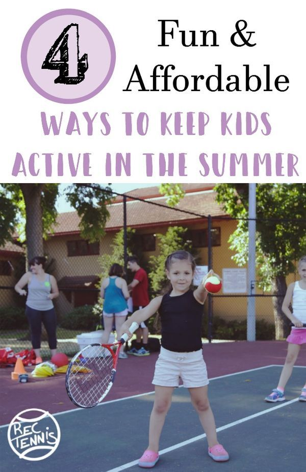 ad 4 Ways to Get Kids Active This Summer- Beat summer boredom and