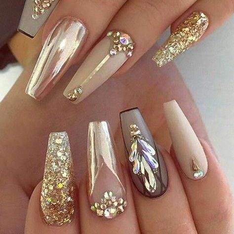 60 newest coffin nails designs 2018 short coffin nails
