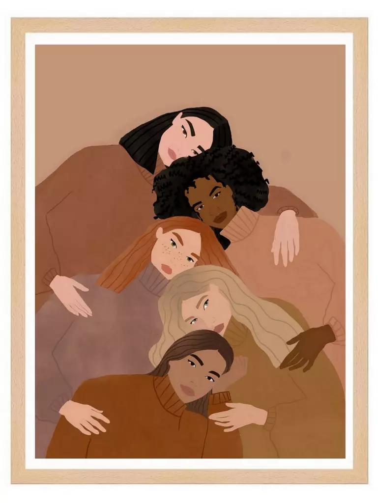 Affiche mode et déco : les illustrations de Carla Llanos - Joi Place