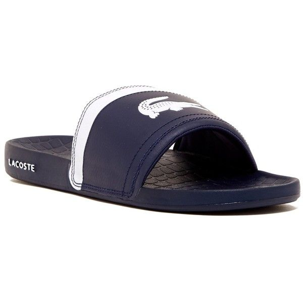 7c8d358be Lacoste Fraisier BRD1 Sandal ( 25) ❤ liked on Polyvore featuring men s  fashion