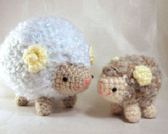 Cute Amigurumi and Crochet Patterns by HomemadeZen on Etsy