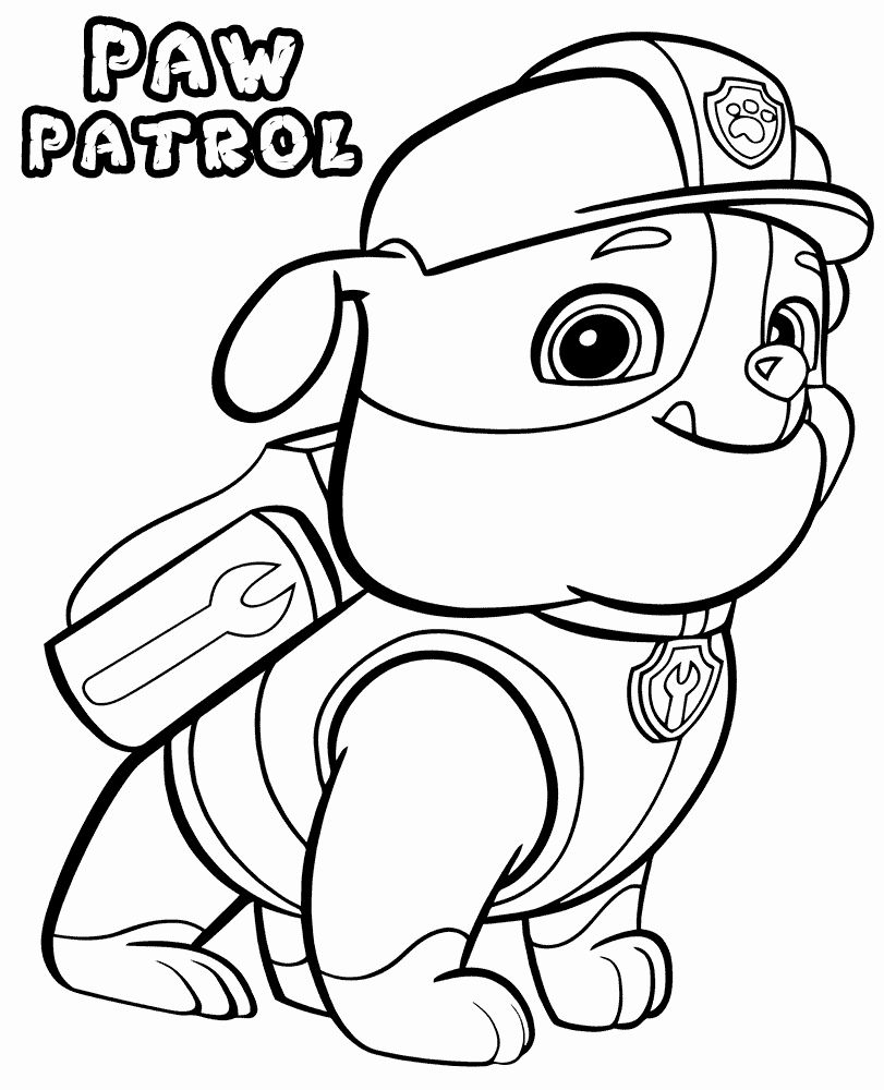 Paw Patrol Printable Coloring Pages Luxury Paw Patrol Coloring Pages Paw Patrol Coloring Paw Patrol Coloring Pages Cartoon Coloring Pages