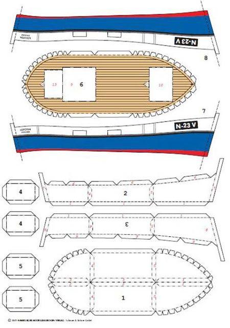 Todorecortables Sueños De Papel Barcos Recortables Barcos Piratas De Cartón Barcos De Papel Barco De Carton