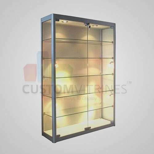 Vitrinas para trofeos vitrinas displays mexico - Vitrinas de madera y vidrio ...