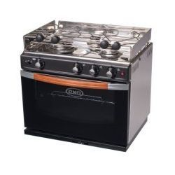 E Cooktops Find The Best Gas Cooktop For Your Boat Or Rv Dometic >> Eno Gascogne 3 Burner Propane Gas Stove With Oven Tiny House