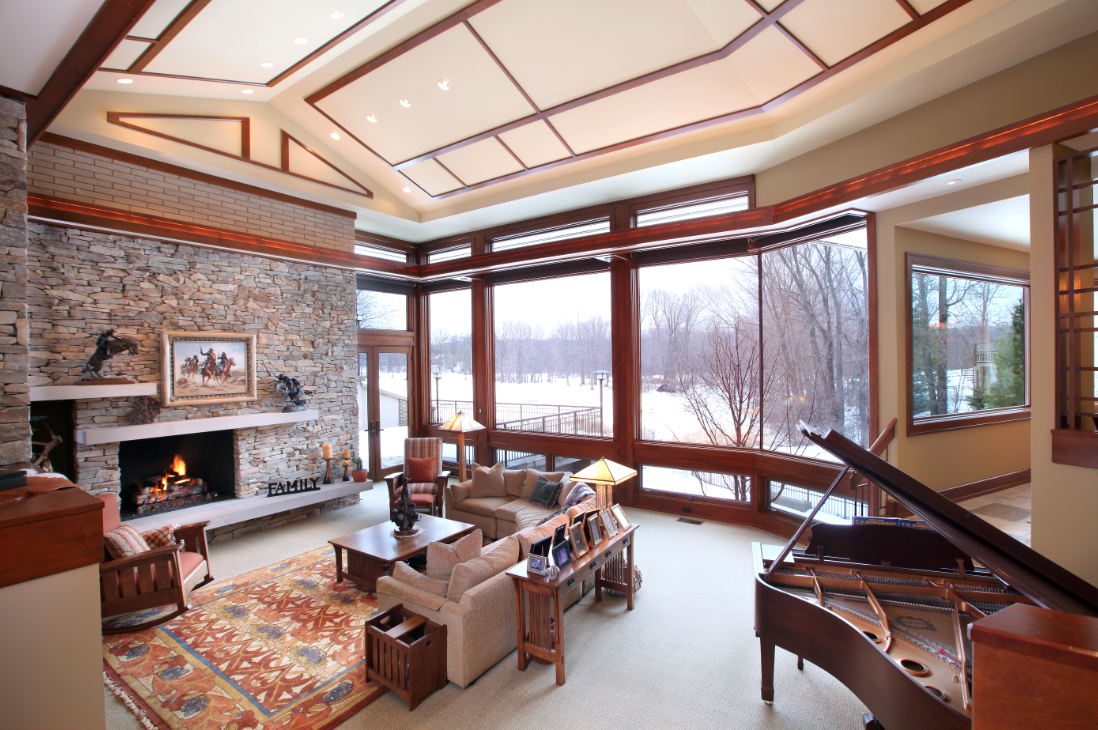 Frank Lloyd Wright Inspired Masterpiece In Watermark | GRpulse.com