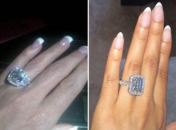 Kim vs Evelynboth wearing rings suited for royalty Which woman