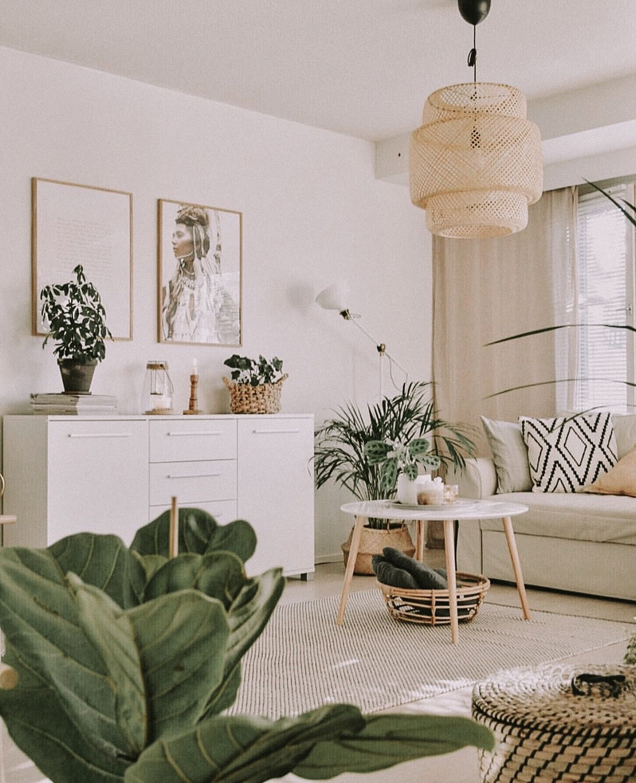 Pinterest F O R T F I E L D Neutral And Green Living Room Apartment Therapy Small Spaces Living Room Green Apartment Living Room