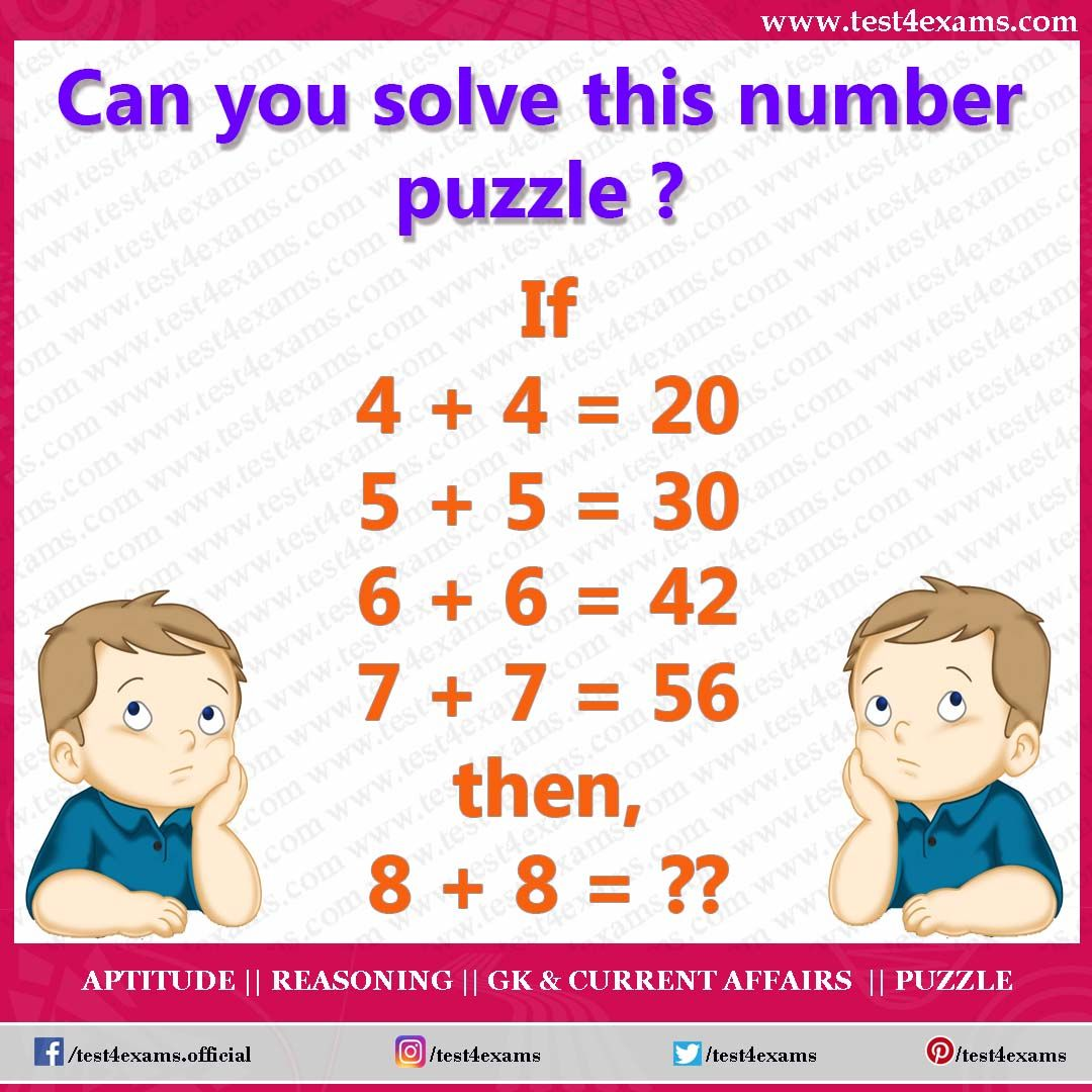 Can you solve this number puzzle in 2020 (With images