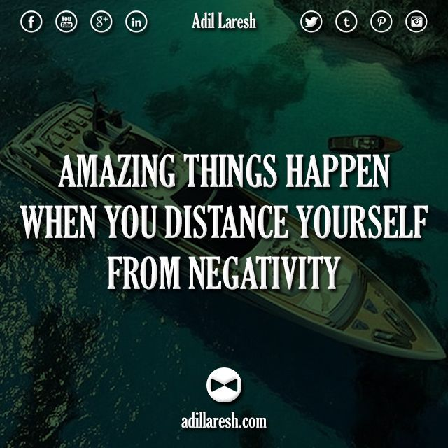 Amazing Motivation: Amazing Things Happen When You Distance Yourself From