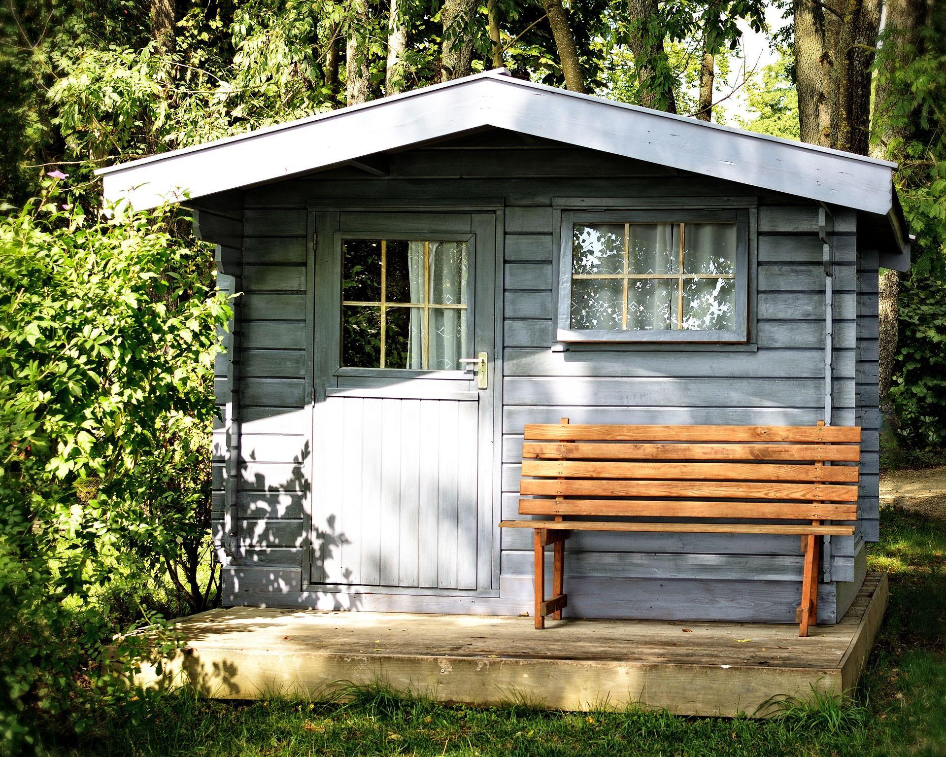 Abri de jardin traditionnel... #abri #jardin | Abris et garages de ...