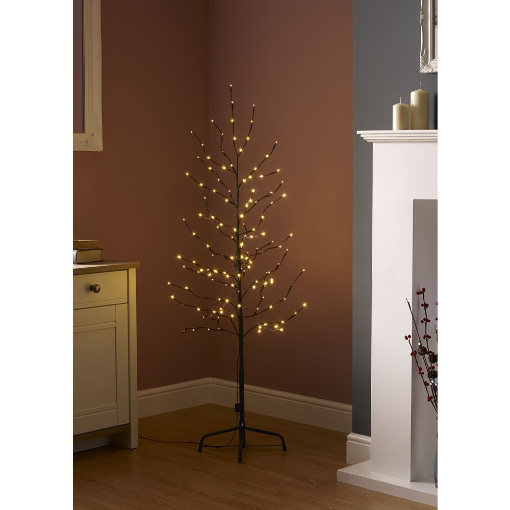 brand new 70bc7 ac0a6 Wilko Pre-Lit Twig Tree 5ft/152cm Let there be light! Our ...