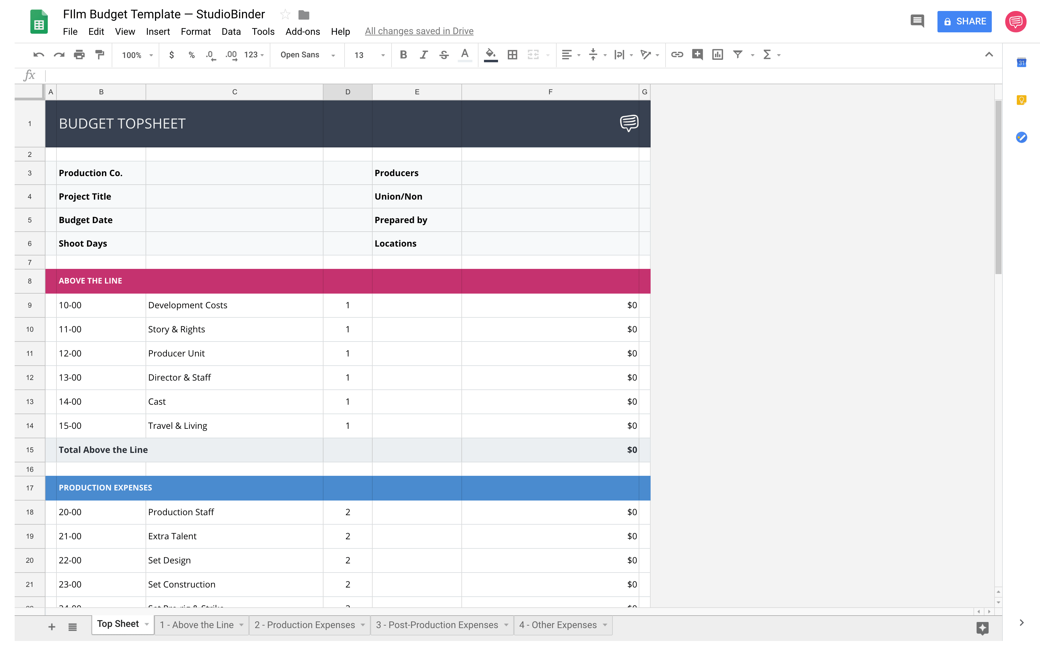 Download Your Free Film Budget Template For Film Video Production Budget Template Estimate Template Budgeting