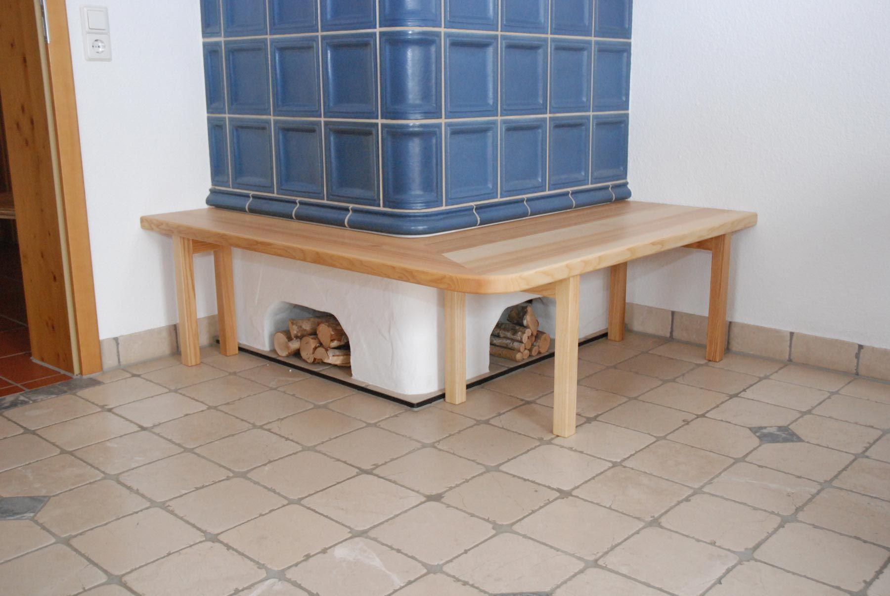ofenbank in esche f r den kachelofen holzbank. Black Bedroom Furniture Sets. Home Design Ideas