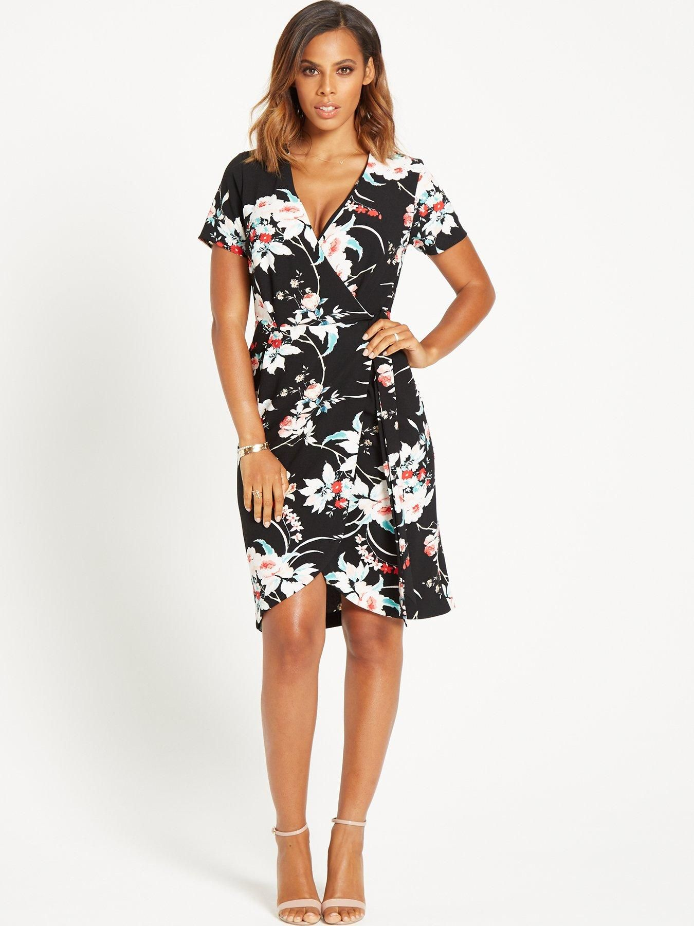 765fa366ba Rochelle Humes Wrap Dress   Very