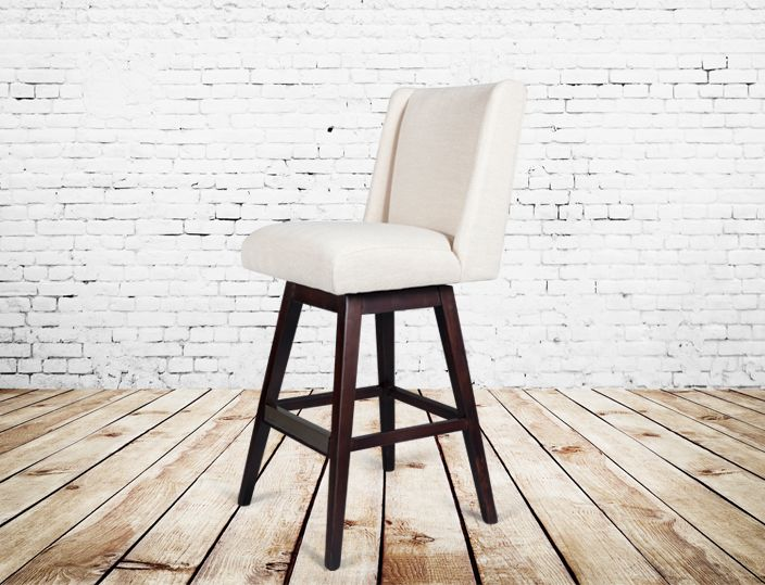 Pleasant Alder And Tweed Tribeca Swivel Counter Stool Bar Stools Uwap Interior Chair Design Uwaporg