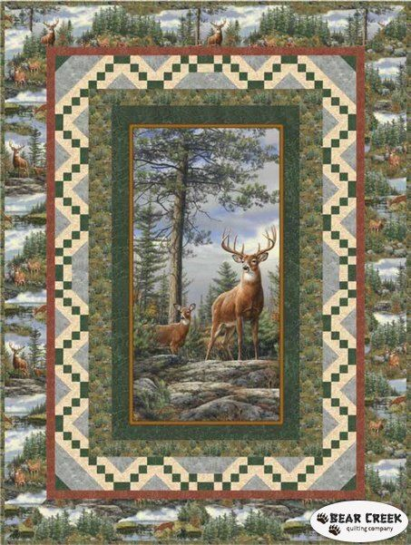 Deer Mountain Free Quilt Pattern By Quilting Treasures