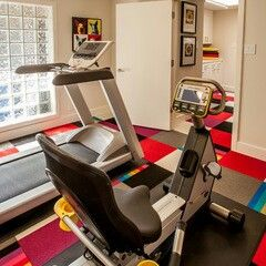 houzz have a spare room make it a gym  small home gyms