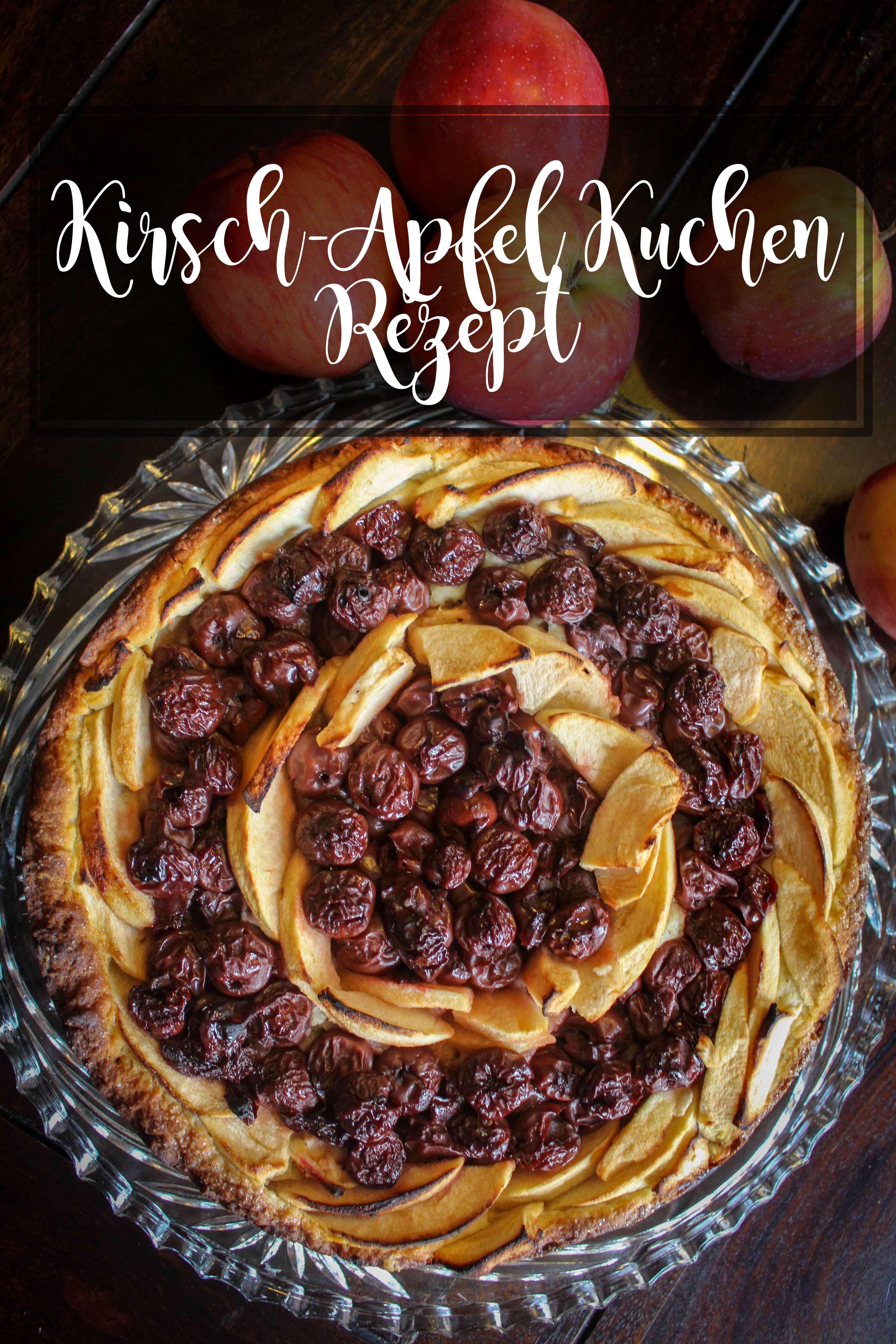 Rezept Fur Kirsch Apfelkuchen Mit Quark Ol Teig Quark Ol Teig Rezepte Apfelkuchen Rezept