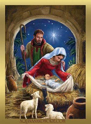 Holy Family Christmas Cards | art | Pinterest | Holy family ...