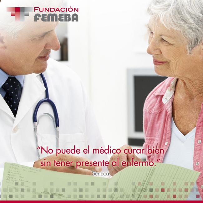 No puede el médico curar bien sin tener presente al enfermo. #Frases #Medicina