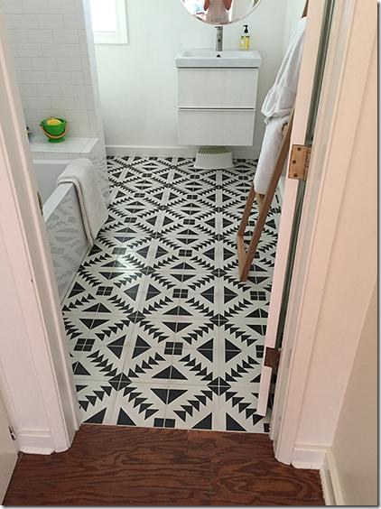 Cement Tiles Bathroom