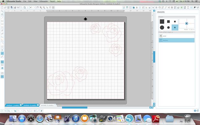 screenshot of roses | carilocken for silhouette