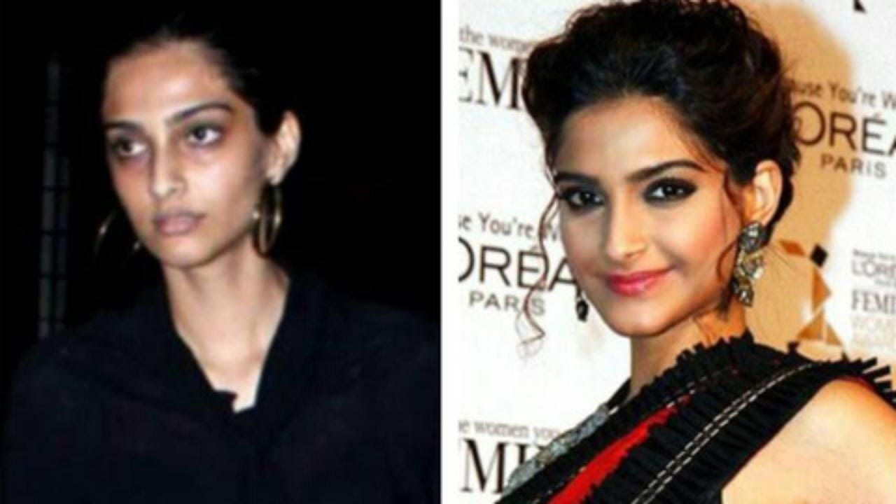 21 shocking pictures of bollywood actresses without makeup | 21