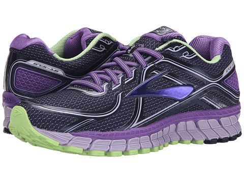 7be844f846d1b Brooks Adrenaline GTS 16 Passion Flower Lavender Paradise Green -  Zappos.com Free Shipping BOTH Ways