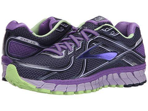 Brooks Adrenaline Gts 16 Passion Flower Lavender Paradise Green. Workout  AttireWorkout GearWorkoutsNursing ShoesWoman RunningPassion FlowerProducts Fashion ...