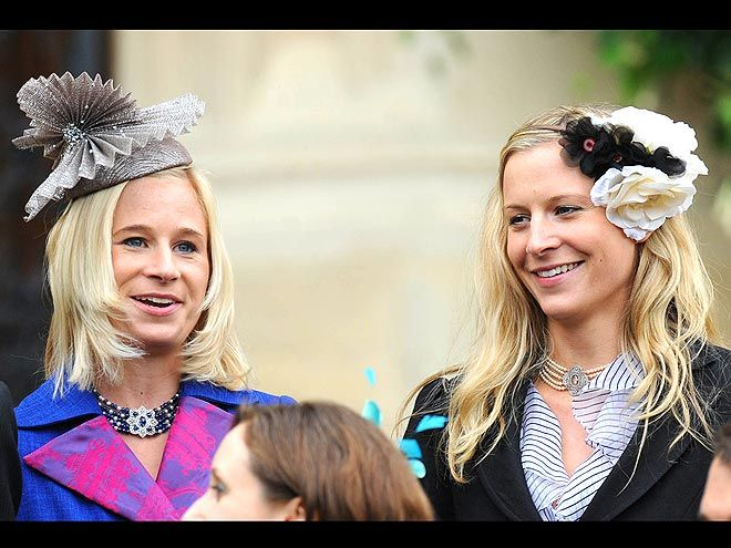 Lady Rose and Lady Davina Windsor of Gloucester