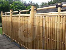 Bambus Sichtschutz Garten Zaun Windschutz Bambuszaun